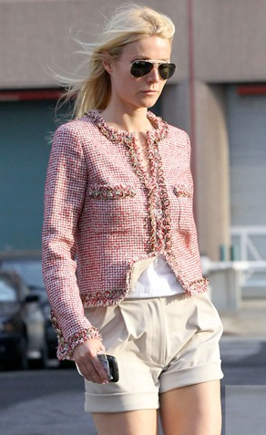 Gwyneth Paltrow a Chanel Jacket